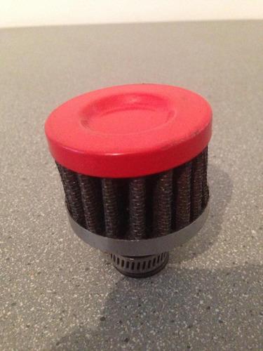 mini filtro cónico respiradero