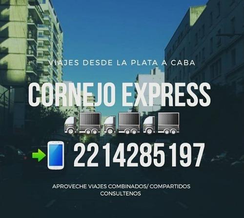 mini fletes la plata capital cornejo express