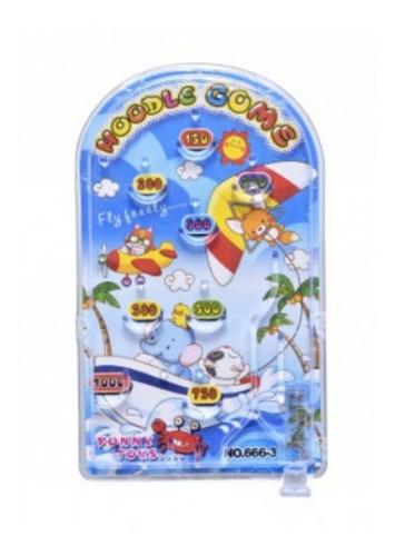 mini flipper pinball lanzador juguete infantil niños animale