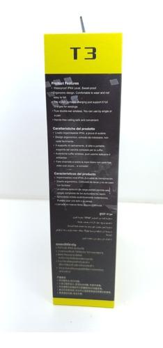 mini fone de ouvido bluetooth original awei t3 com case