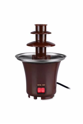 mini fonte de cascata de chocolate