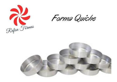 mini forma p/ quiche c/ 10 (8x8x2,5)