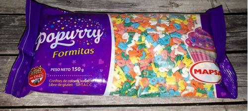 mini formitas, sprinkles corazon x 150 grs