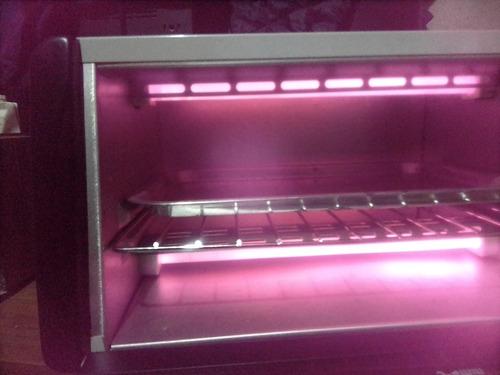 mini forno dellar 110v novo sem a caixa