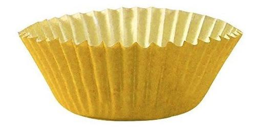 mini forros amarillos para cupcakes. papel de colores, ideal