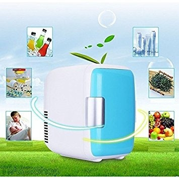 mini fridge 7 lts cooler refrigerador calentador 220v 12v