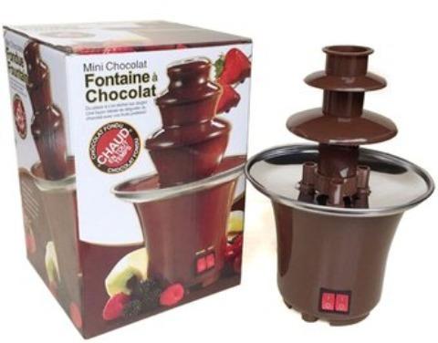 mini fuente de chocolate fondue fountain-de 3 niveles