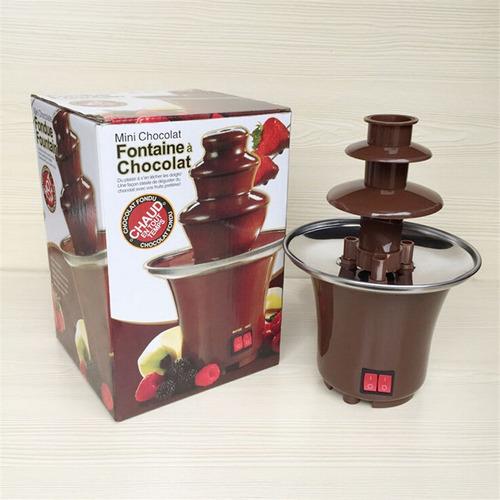 mini fuente de chocolate ideal para fiestas