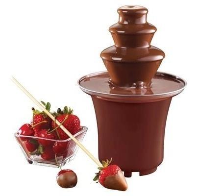 mini fuente de chocolate maquina fondeu 3 niveles casera