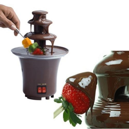 mini fuente para chocolate fondue ideal para fiestas
