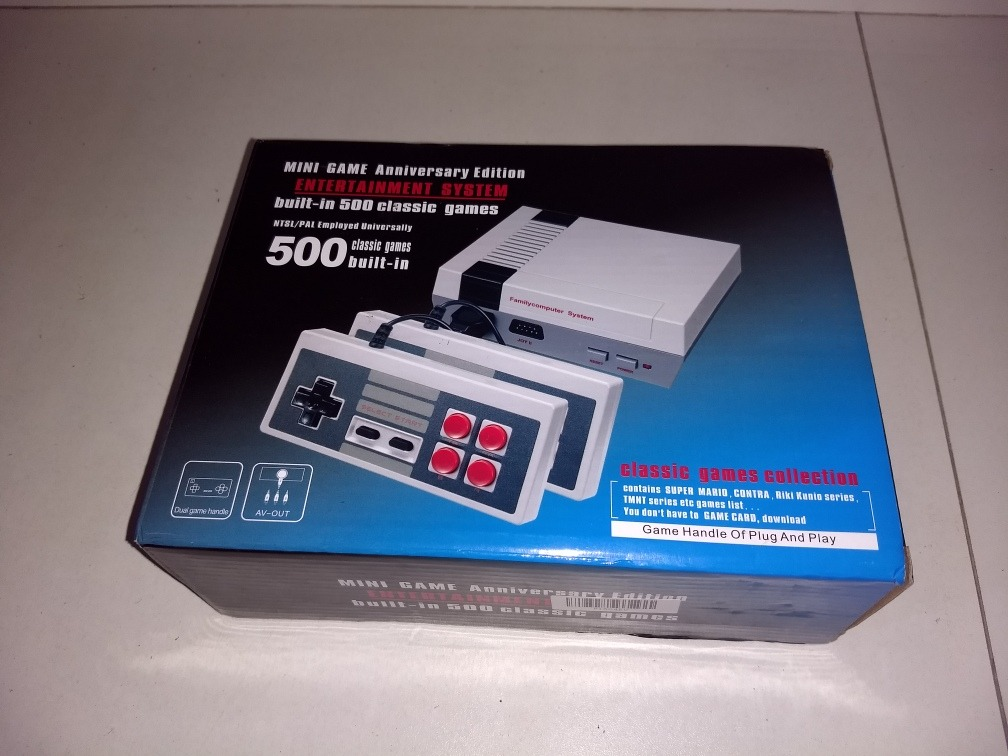 mini game anniversary edition entertainment system 500