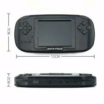 mini game clássico portátil console com 168 jogos 8 bit