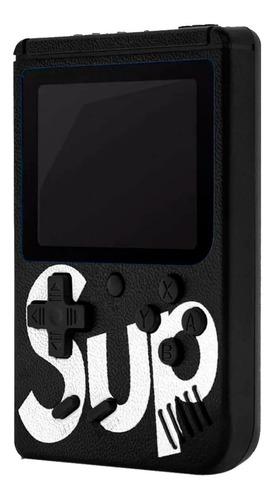 mini game portátil 400 jogos super console controle retro