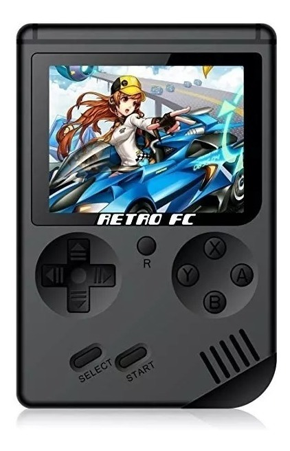 Mini Game Portátil Retro Fc 168 Jogos Clássicos 8bit