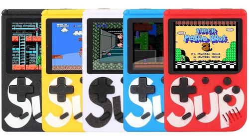 mini game retrô portatil 400 jogos antigos anos 80 promoção