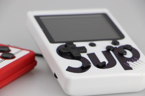 mini gamebox sup consola portátil 400 juego 2 players blanco