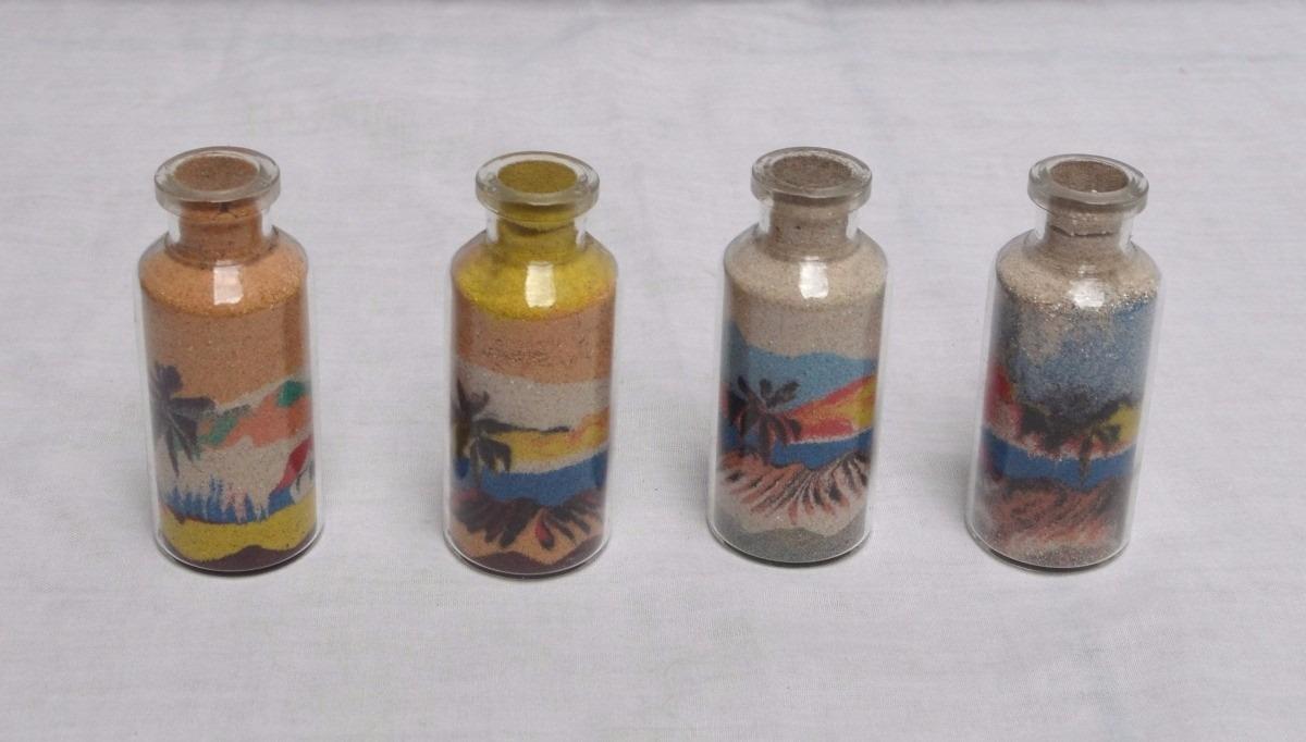 0b1b3d12d0 Mini Garrafa De Areia Colorida Artesanal Natal Rn 5