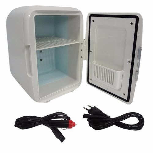 mini geladeira 110v portátil carro 12v e frigobar multilaser