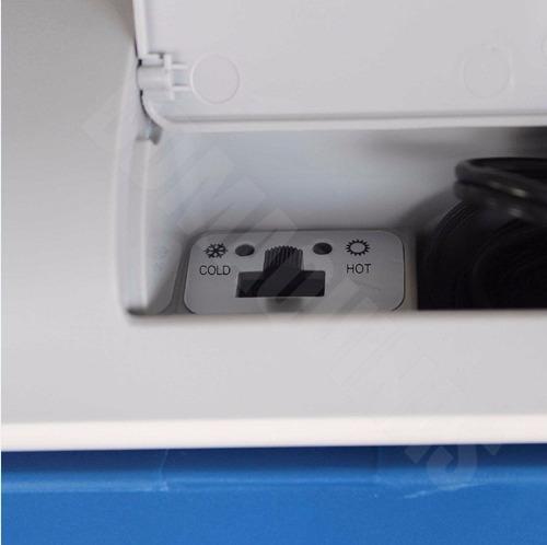 mini geladeira 24 litros automovel 12v resfri/aquece nautika