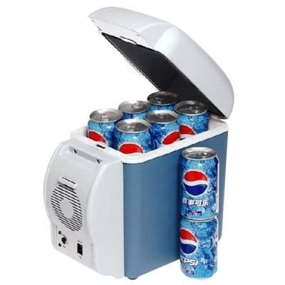 mini geladeira carro 7,5l portatil 12v camping viagem