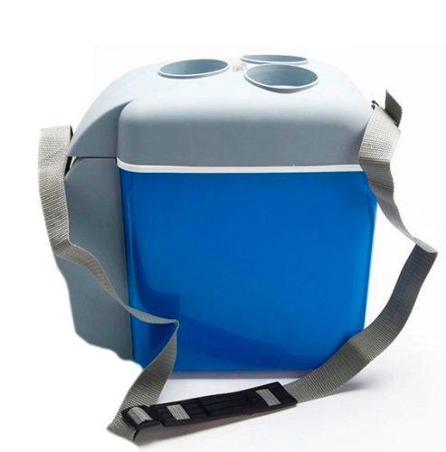 mini geladeira cooler veicular 2 em 1 7,5l esfria e aquece