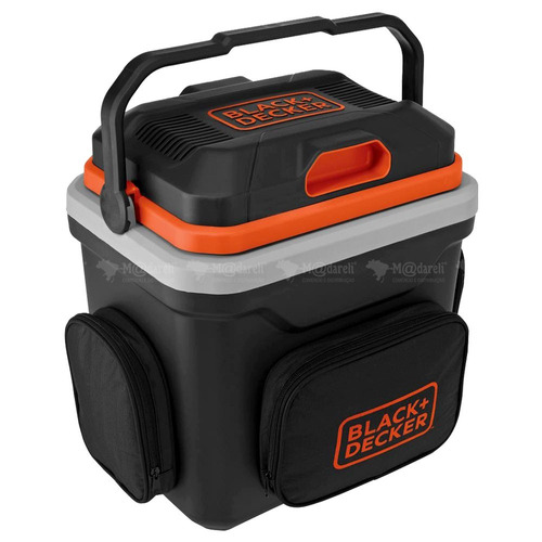 mini geladeira para automóvel 24l 12v black & decker bdc24l