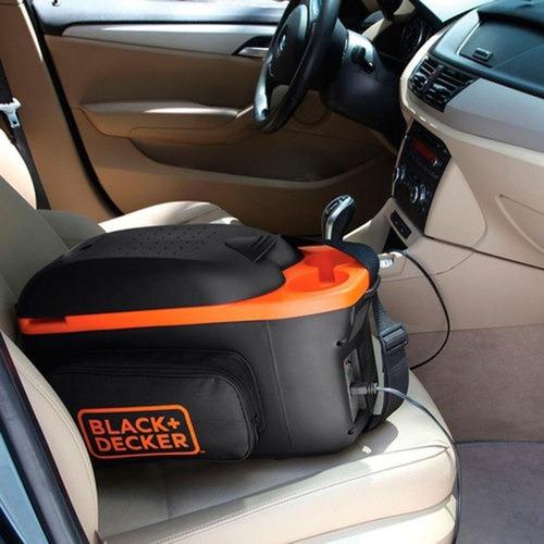 mini geladeira portátil 8l bdc8-la black+decker