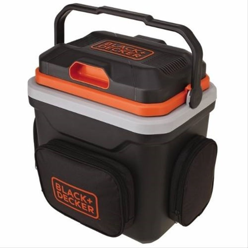 mini geladeira viagem 24 litros 12v black decker com bolsa