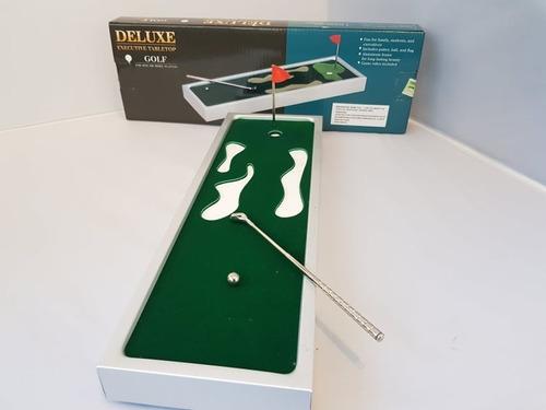 mini golf metalico vip para escritorio