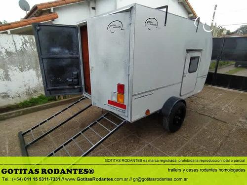 mini gotita rodante cargo 160/ trailer cuatri homologado lcm