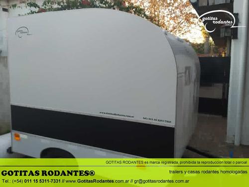 mini gotita rodante cargo 190/ trailer cuatri homologado lcm
