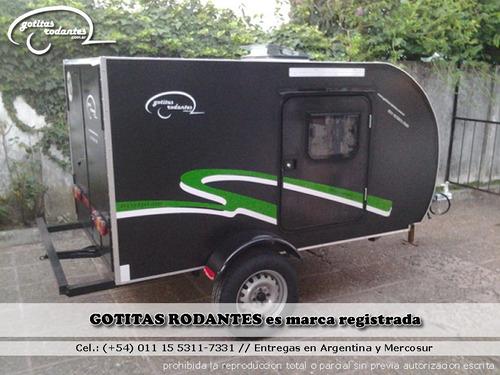 mini gotita rodante cargo / trailer cuatriciclo o de carga