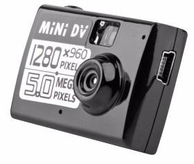 mini gravador camera espiao video audio filma digital