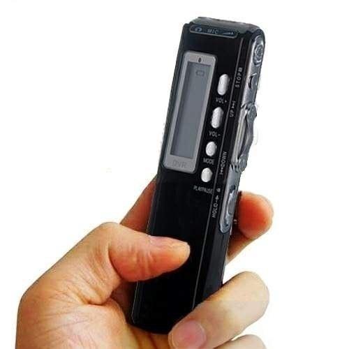 mini gravador de voz digital espião grava até 6 dias 8gb