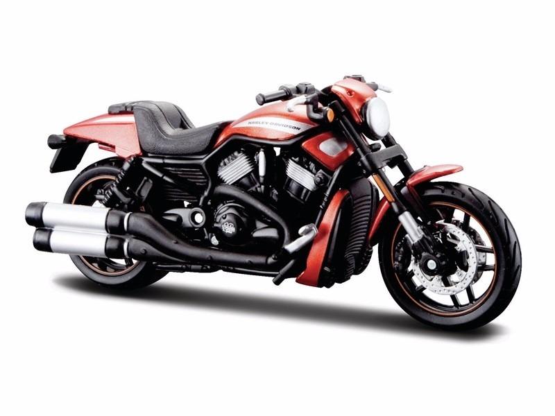 Maisto Harley Davidson 2012 Vrscdx Night Rod Special: Mini Harley Davidson Vrscdx Night Rod Special 12 1:18