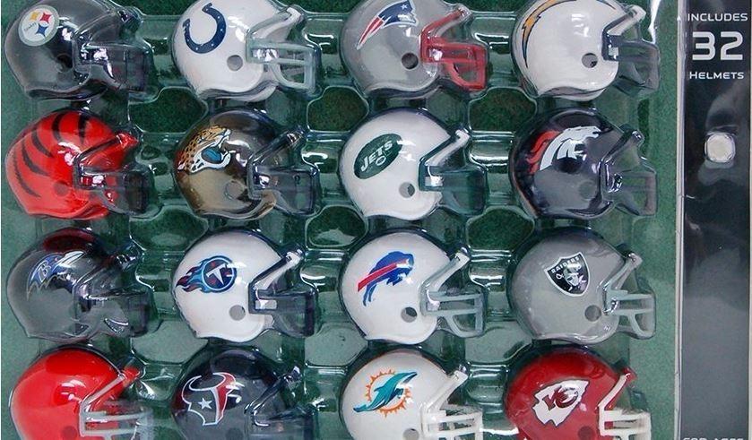 mini helmets - futebol americano - nfl - 32 times - oficial. Carregando zoom . 73e1ba4cd87c3
