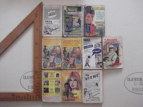 mini historias,micro suspenso,micro misterio lote,1979