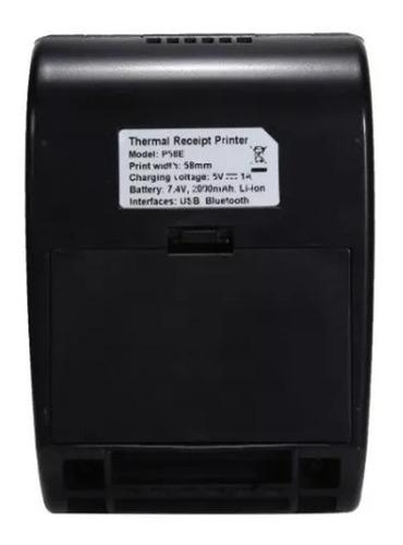 mini impressora bluetooth termica 58mm windows android ios