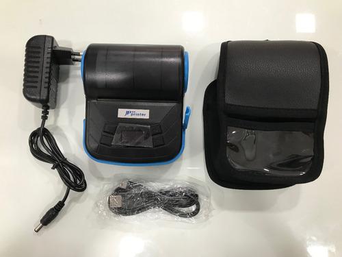 mini impressora portátil 80mm bluetooth 2.0 android e ios a