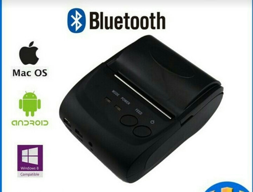 mini impressora portátil android, bluetooth .