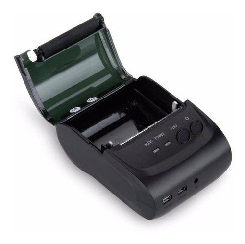 mini impressora portatil bluetooth termica larg 80mm