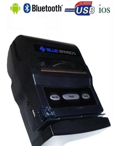 mini impressora portatil bluetooth termica loja p25m c/ nf