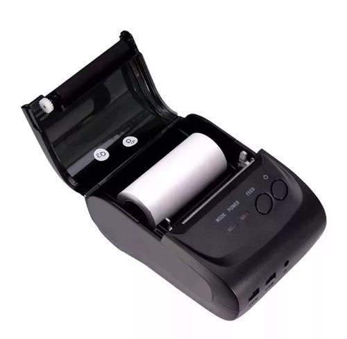 mini impressora portatil sem fio termica 58mm android ios