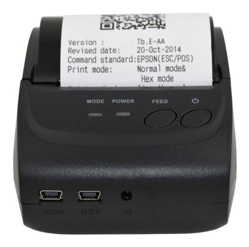 mini impressora térmica portátil sem fio recibos cupons etiq