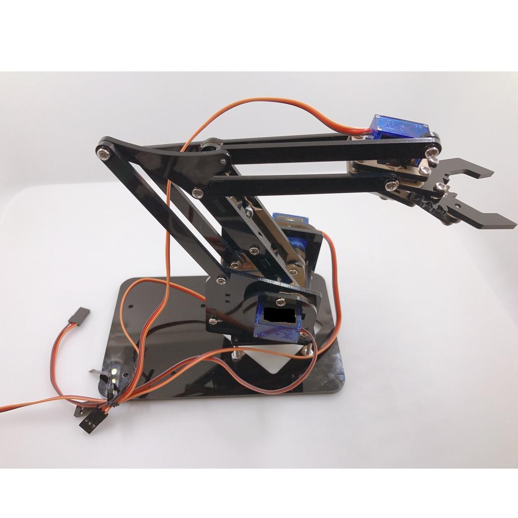 Mini Industrial Robotic Arm Kits Diy Robot Toy Gifts Diy Kit