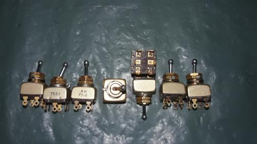 mini interruptor ts-6 cooper alavanca banhado c/8 (2413)