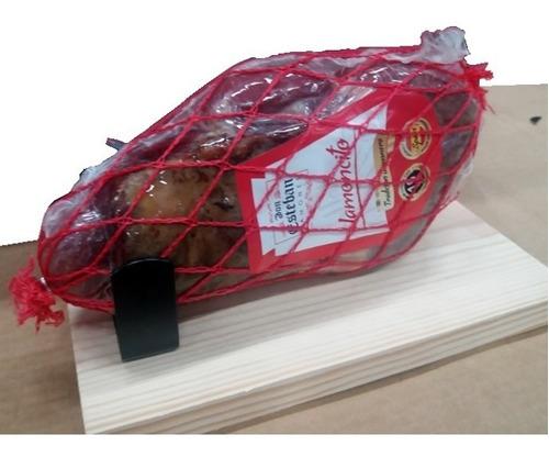 mini jamon serrano español don esteban 900g con tabla y cu