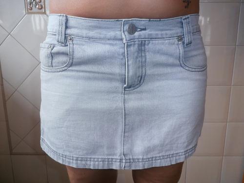 mini jeans gris claro  nahana jeans  t.  l