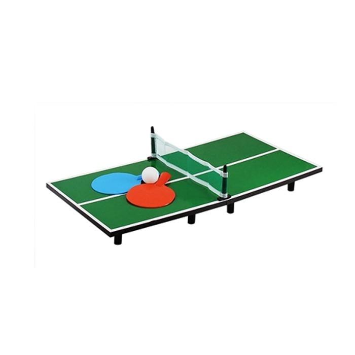 701a43f631e41 Mini Jogo Mesa Ping Pong Tenis De Mesa Bola 2 Raquete E Rede - R$ 37,03 em  Mercado Livre