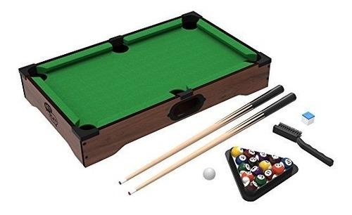 mini juego de mesa de billar - juego de billar incluye bolas